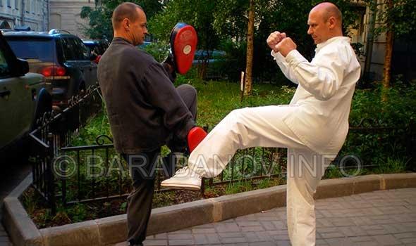 Андрей Барабанов. О работе на снарядах
